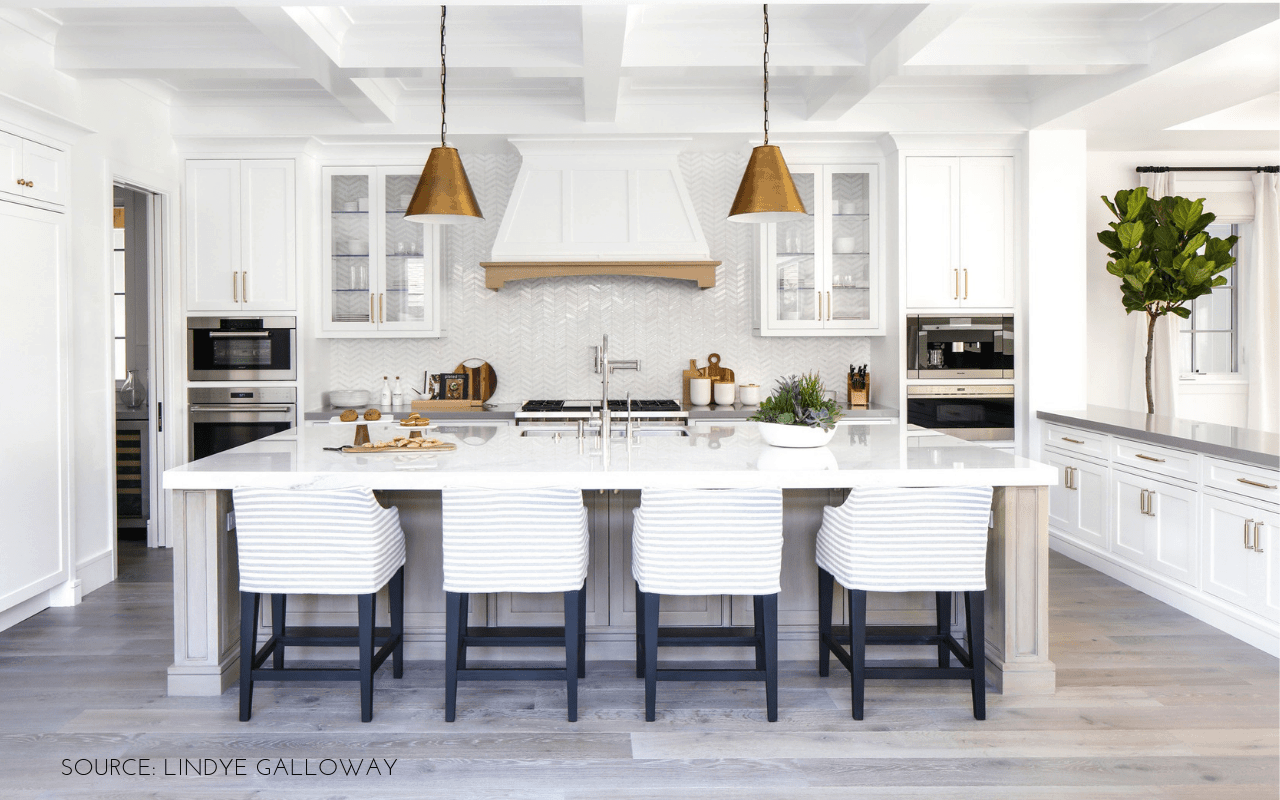 How to hang pendant lights over kitchen island featured