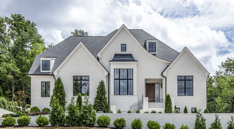 top exterior siding options painted white brick