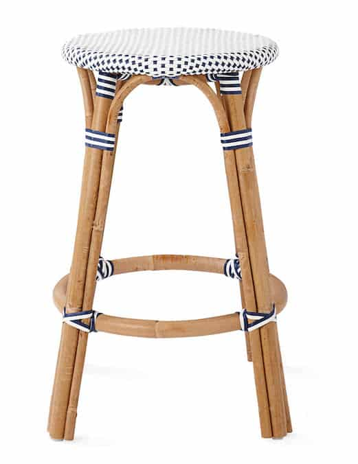 Serena and Lily Riviera Backless Stool