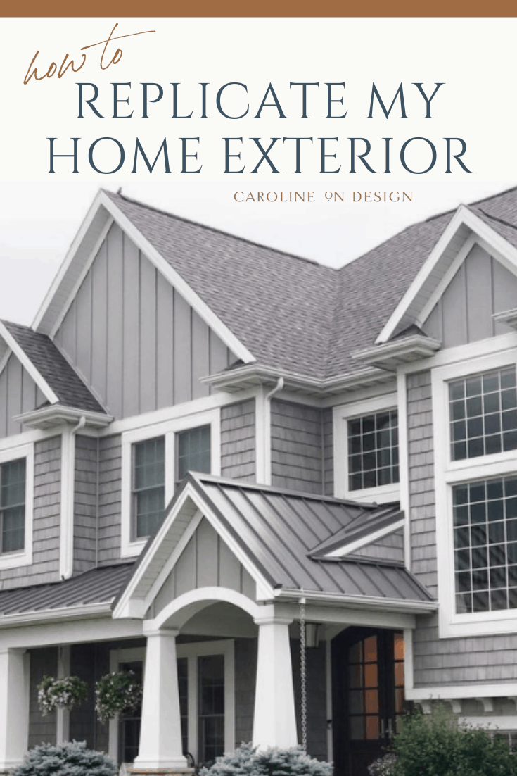 gray craftsman style house exterior